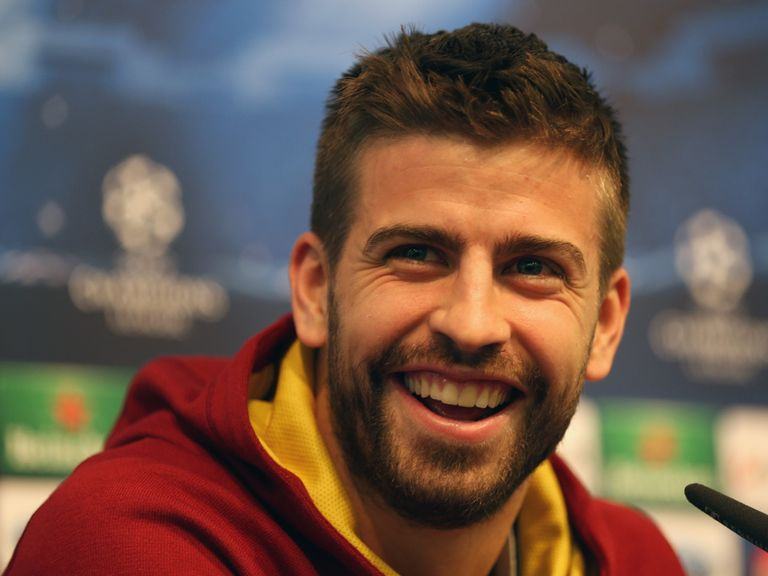 Gerard Pique: Impressed by new boss Luis Enrique