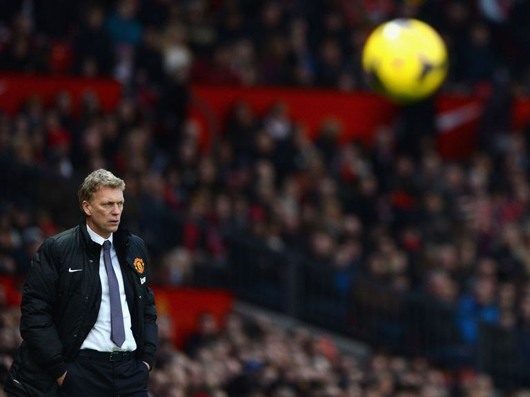 Moyes: Under pressure after another disappointing result