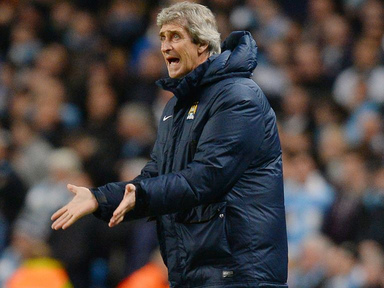 Manuel Pellegrini: Handed a two-match touchline ban
