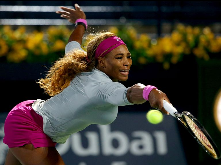 Serena: Through to the next round