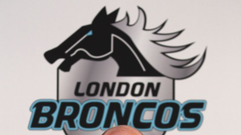 Gus Mackay: chief executive to depart London Broncos