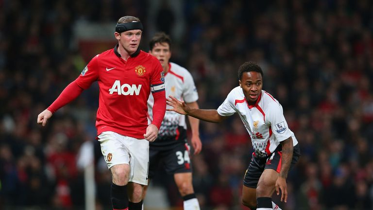 Rooney and his Man United team-mates face Liverpool on Sunday