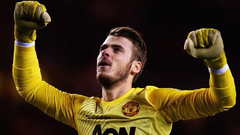 David De Gea: Established himself as one of the Premier League's best goalkeepers