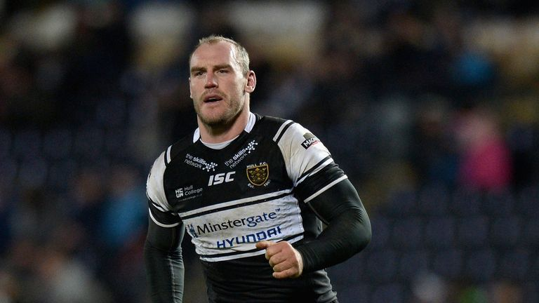 Gareth Ellis: Will play no part in Hull FC's upcoming games against Salford
