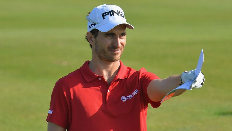 Alejandro Canizares: Maintained his one-shot lead after a 68 in Agadir