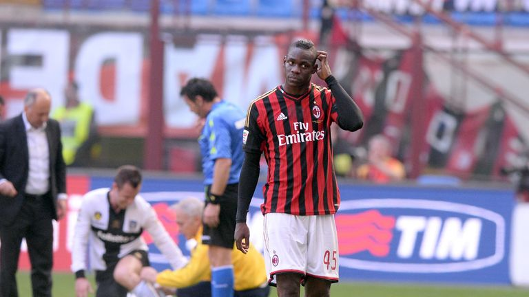 Mario Balotelli: Goal not enough for AC Milan