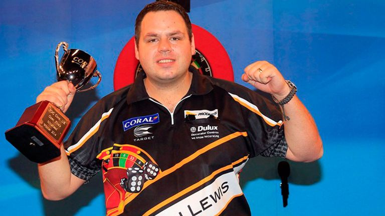 Adrian Lewis: Won fourth major darts title