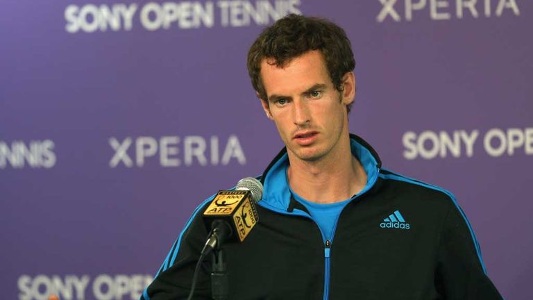 Andy Murray: Facing Tsonga test in Miami