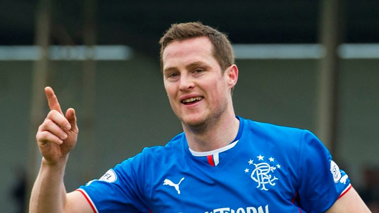 Jon Daly: The striker is one of three Rangers players nominated for the SPFL League One Player of the Year award.
