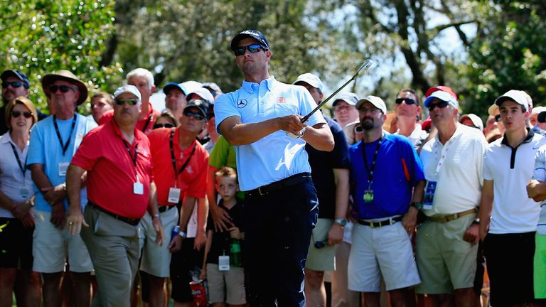 Adam Scott: In commanding position at halfway stage in Florida