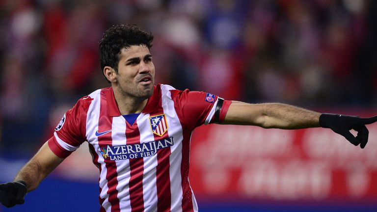 Diego Costa: Tied to a long-term contract at Atletico Madrid