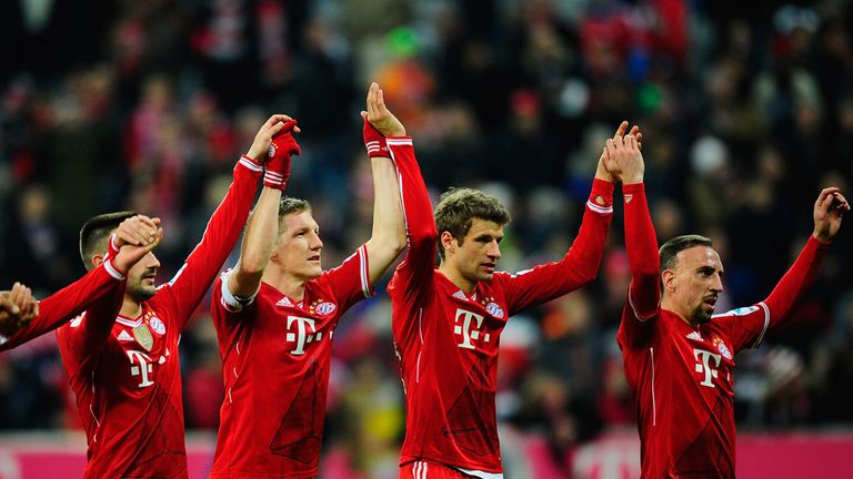 Bayern Munich: Bundesliga champions for the 24th time