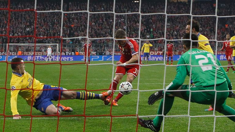 Bayern beat Arsenal on aggregate but may be sanctioned by UEFA