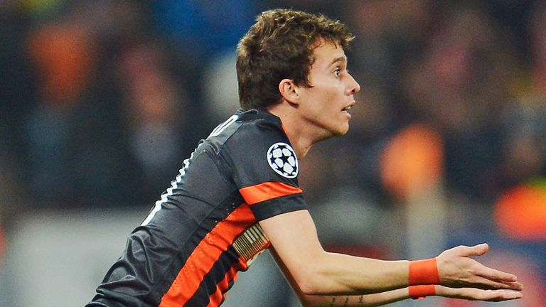 Bernard: Frustrated not to be playing regularly at Shakhtar Donetsk