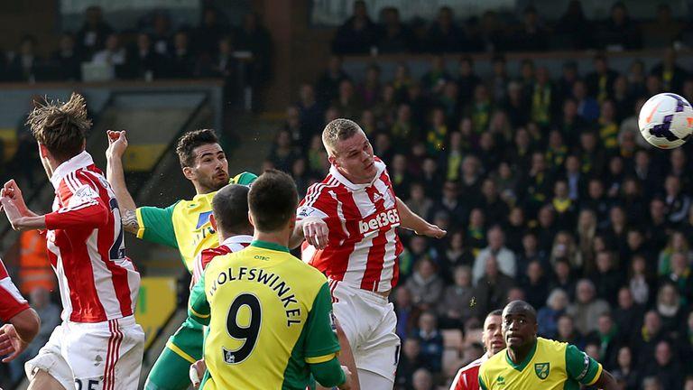 Bradley Johnson: Norwich midfielder finds the net against Stoke