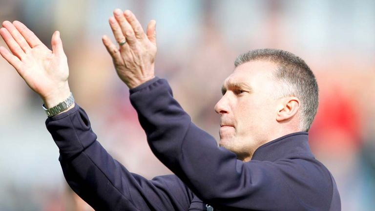 Nigel Pearson: Hopes victory over Reading will edge his side closer to the title