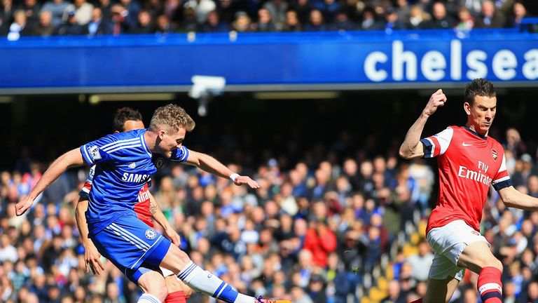 Andre Schurrle: Thrilled to help Chelsea destroy Arsenal 6-0