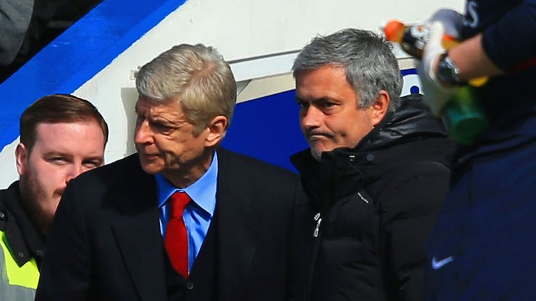 Arsene Wenger: Arsenal boss has not beaten Jose Mourinho in 11 attempts