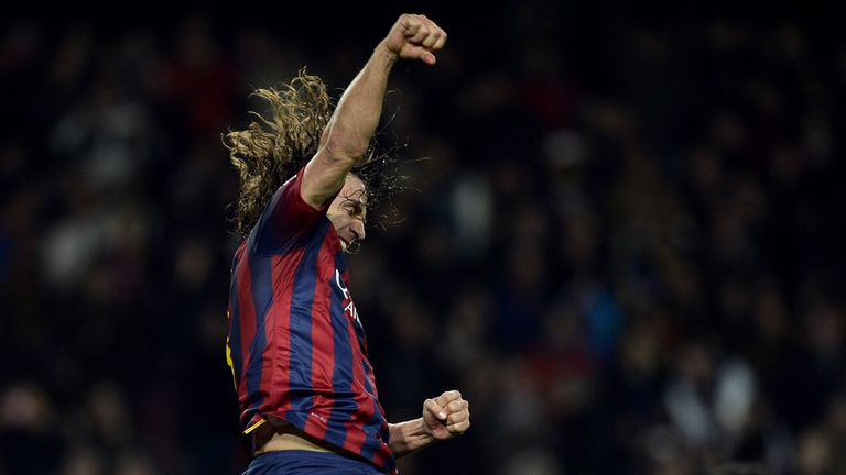 Carles Puyol: Barcelona club captain praised as 'an example to us all'