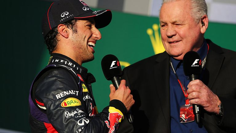Daniel Ricciardo: Shrugs off disqualification disappointment