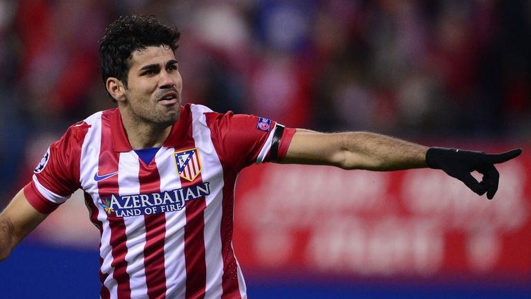 Diego Costa: Earned Atletico Madrid another victory