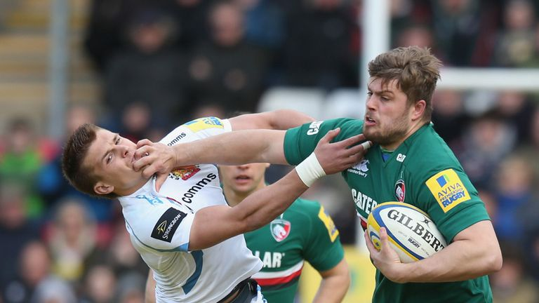 Slater: carries well for Leicester