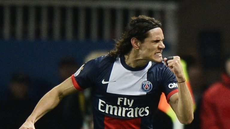 Edinson Cavani: Could deputise for Ibrahimovic