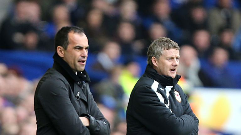 Roberto Martinez: Had some sympathy for Ole Gunnar Solskjaer after Everton¿s win