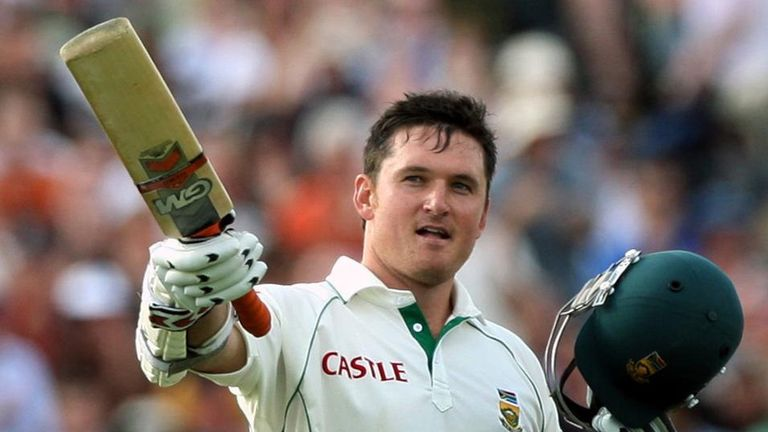 Graeme Smith: Has made 37 international centuries for South Africa