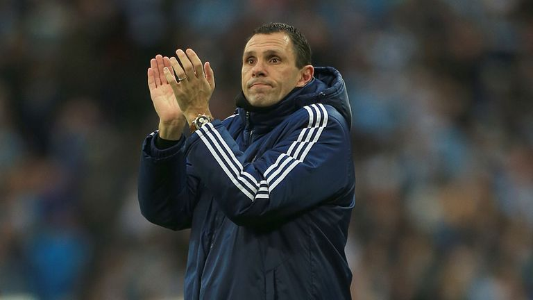 Gus Poyet: Confident of Premier League survival