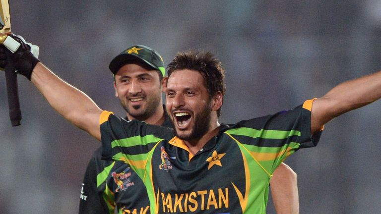 Shahid Afridi: Fitness boost for Pakistan all-rounder