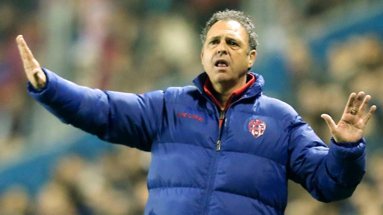 Joaquin Caparros: The new man in charge at Granada