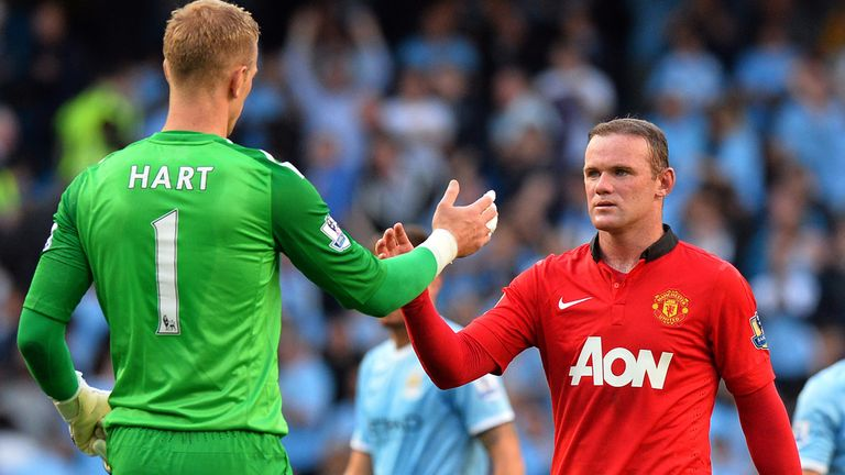 Hart and Wayne Rooney have played with and against one another on many occasions