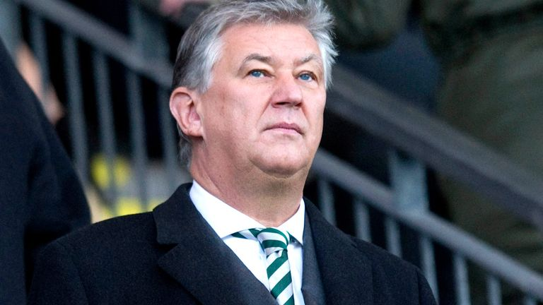Peter Lawwell: Proud of Celtic's recent record