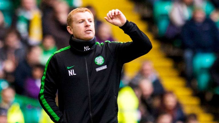Neil Lennon: Celtic boss praised striker Lee Griffiths