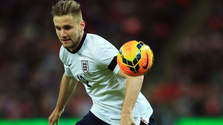 Luke Shaw: Not thinking about the World Cup after making England debut