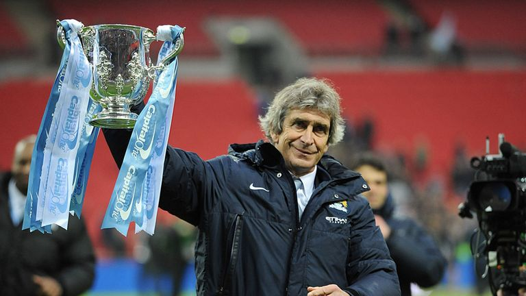 Manuel Pellegrini: Manchester City boss hoping for another Wembley trip