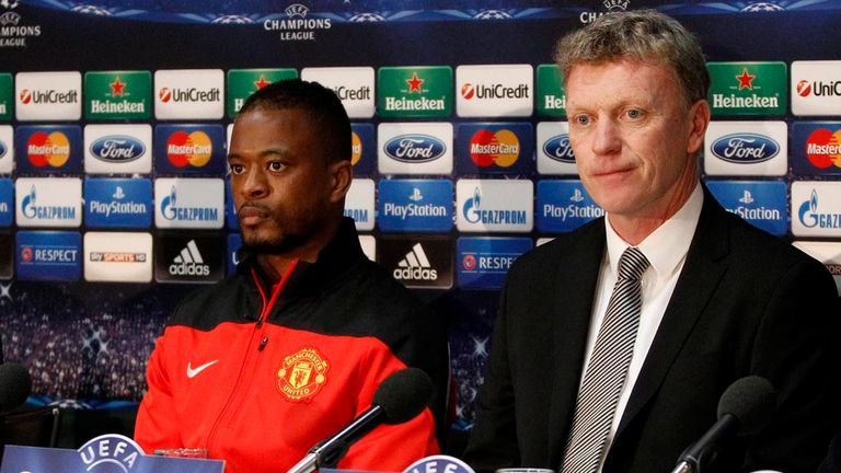 "Patrice Evra: Believes David Moyes' side have the ""Manchester United spirit"" in the Champions League"