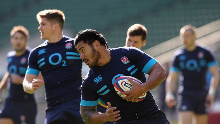 Manu Tuilagi: Recalled to England's 23