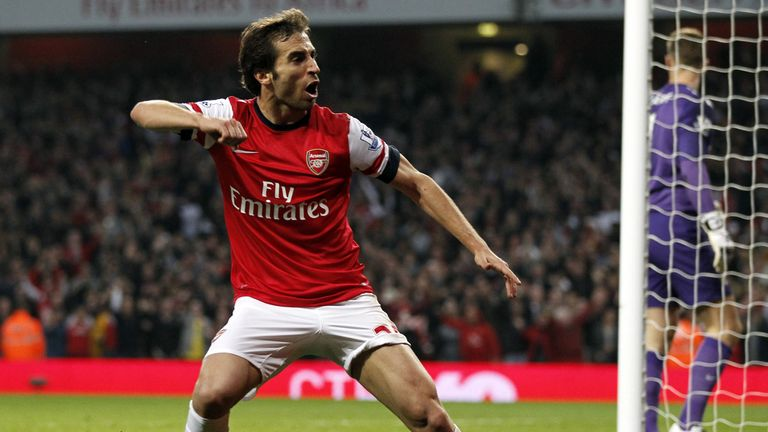 Flamini: scored in Arsenal's draw with Man City