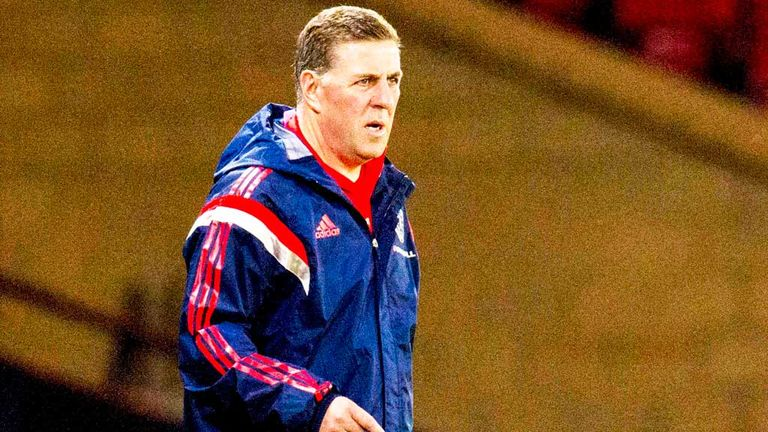 Mark McGhee: Scotland coach is delighted with competition among strikers