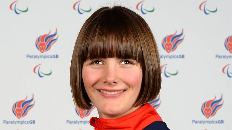 Visually impaired skier Millie Knight has been selected to represent GB at the Winter Paralympics in PyeongChang