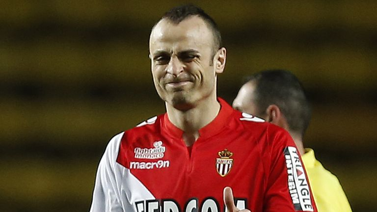 Dimitar Berbatov: Striker would be keen to stay with Monaco