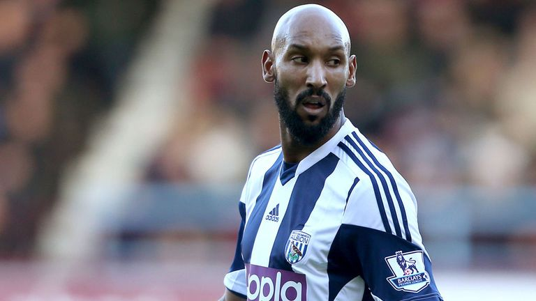 Nicolas Anelka: Set to swap England for Brazil
