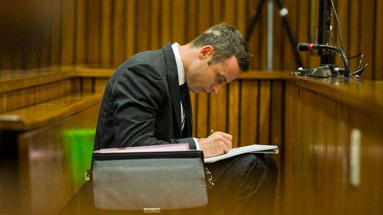 Oscar Pistorius is on trial for the murder of his girlfriend Reeva Steenkamp