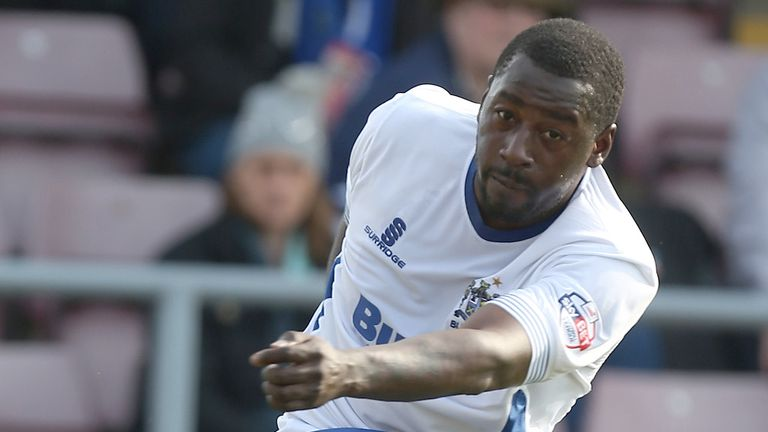 Pablo Mills: In talks over a new deal at Bury