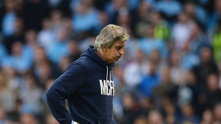 Manuel Pellegrini: Rotated his Manchester City side for Wigan game