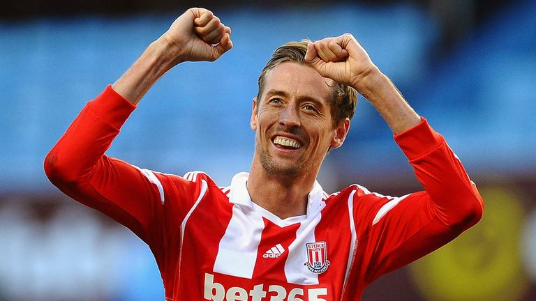 Peter Crouch: Has future at Stoke, insists Mark Hughes