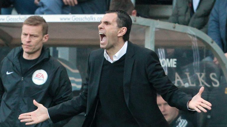 Gus Poyet: Happy with new director of football