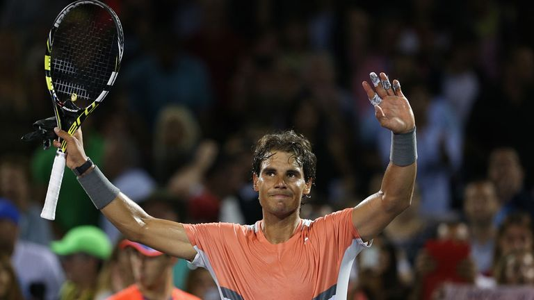 Rafael Nadal: Justifies odds-on favouritism in Monte Carlo